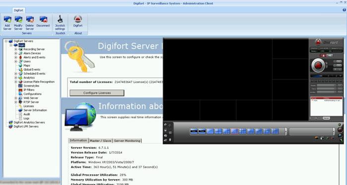 نرم افزار Digifort,دانلود کرک نرم افزارDigifort Enterprise 6.7.1,کیجن نرم افزارDigifort Enterprise 6.7.1